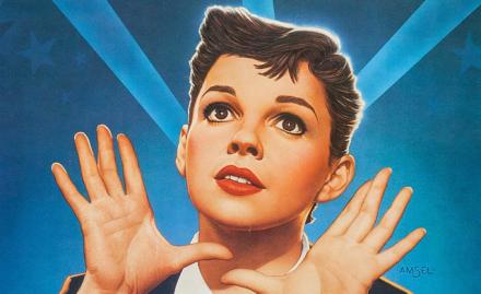 "Judy Garland in ""A Star Is Born"""