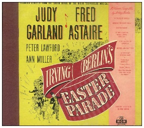 Judy Garland and Fred Astaire MGM Records Easter Parade