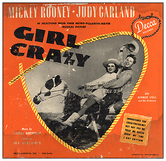 Girl Crazy Decca Album