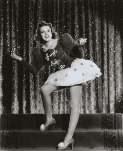 "Judy Garland in ""Ziegfeld Girl"" 1941"