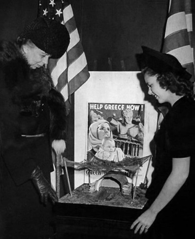 Judy and Eleanor Roosevelt