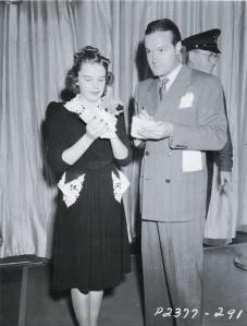Judy Garland and Bob Hope 1940