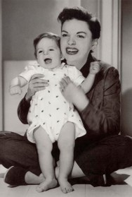 Judy Garland and son Joey Luft 1954