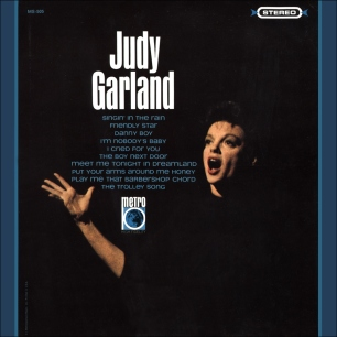 "Judy Garland - MGM Records ""Metro"" label"