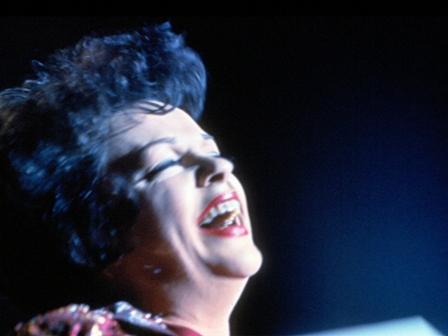 Judy Garland at the Manhattan Center April 26, 1962
