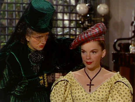 """Judy Garland and Gladys Cooper in """"The Pirate"""" - MGM 1948"""