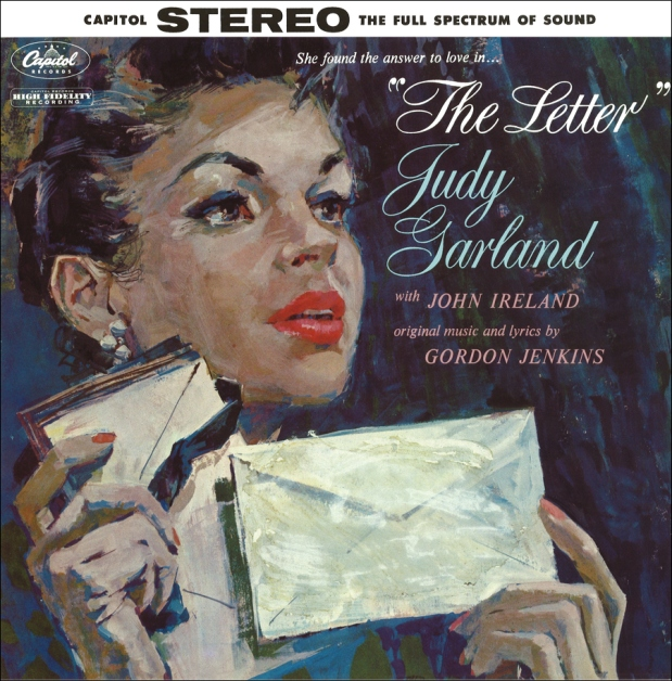 Judy Garland and John Ireland - The Letter - Capitol Records