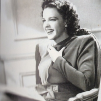 Ziegfeld Girl on the set