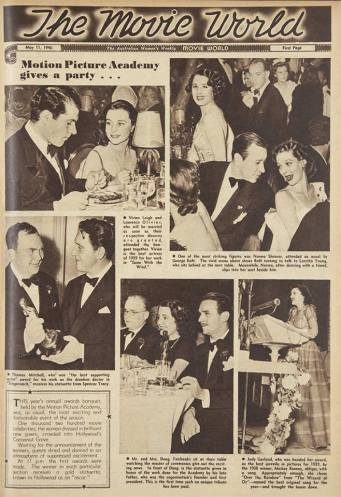 May 11, 1940 Australian Women's Weekly - 1940 Oscars with Judy Garland