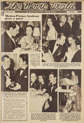 May 11, 1940 Australian Women's Weekly - 1940 Oscars with Judy Garland