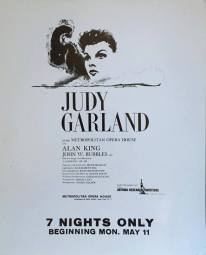 Judy Garland at the Metropolitan Opera House May 11, 1959
