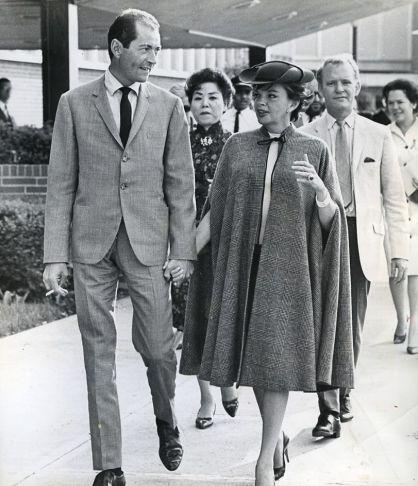 Judy Garland and Mark Herron arrive in Cincinnati, Ohio