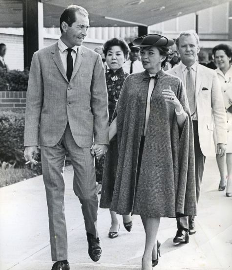 Judy Garland and Mark Herron arrive in Cincinnati, Ohio