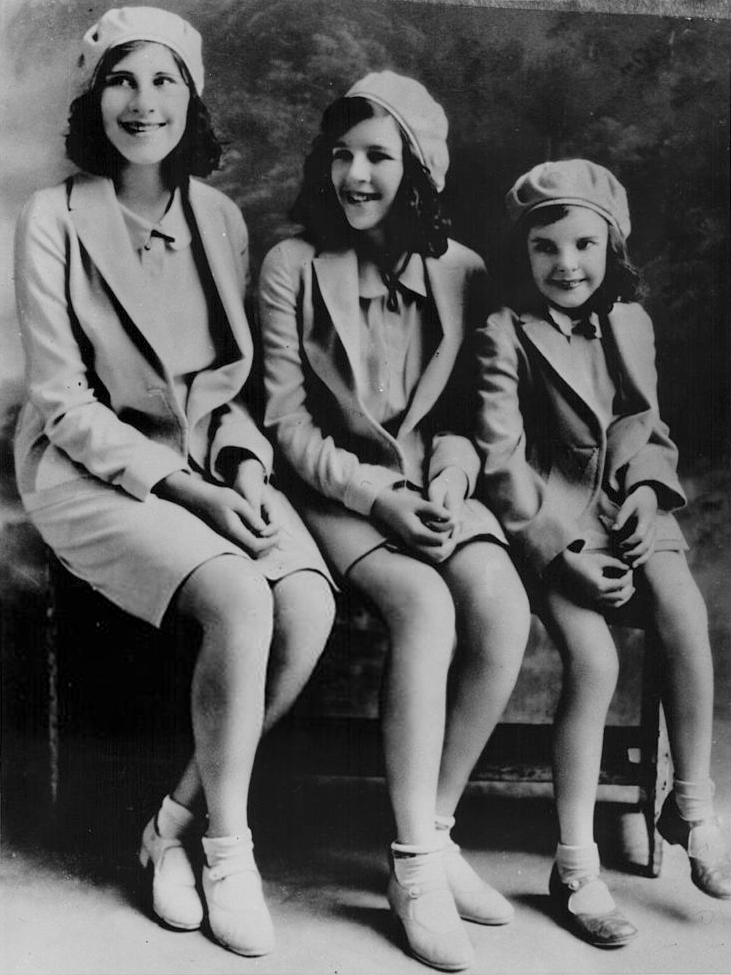 The Gumm Sisters in 1930
