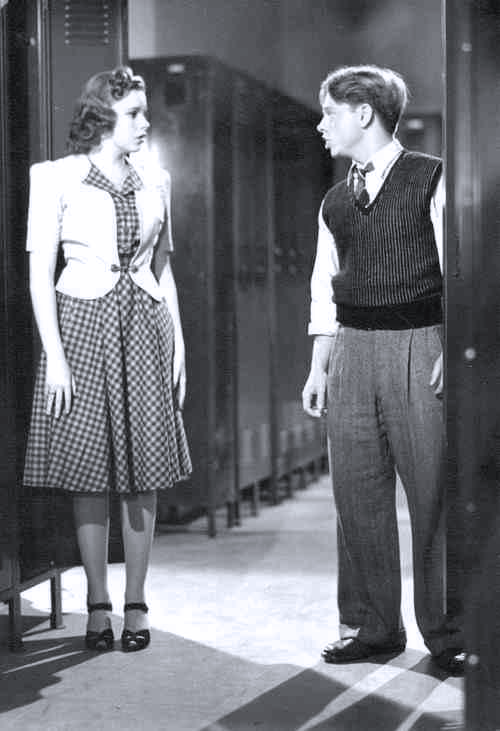 "Judy Garland and Mickey Rooney in ""Strike Up The Band"""