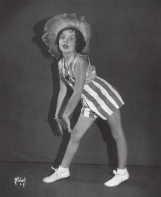 Judy Garland (Frances Gumm) circa 1931