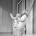 "Judy Garland and Van Johnson on ""The Hollywood Palace"" 1966"