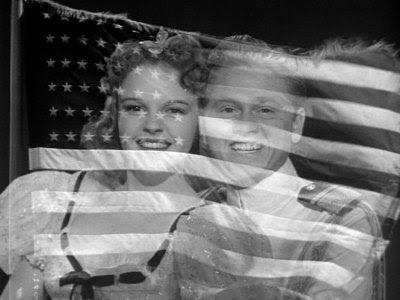 Judy and Mickey and the American Flag.jpg