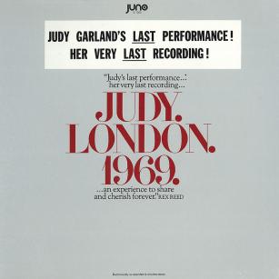 "Judy. London. 1969. by Juno Records - Judy Garland's ""last"" performance"