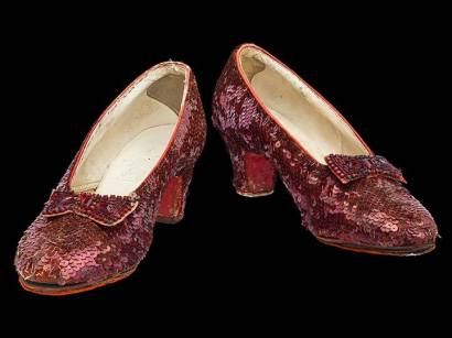 May 17, 1970 MGM Auction Ruby Slippers
