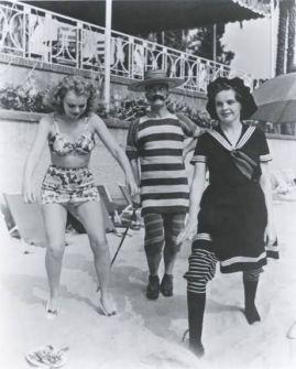 Judy Garland at Milton Berle's Mack Sennett party
