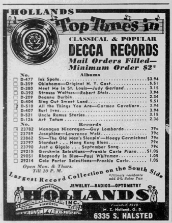 Decca Records - Meet Me In St. Louis - Judy Garland