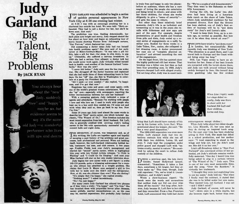 Judy Garland - Big Talent, Big Problems