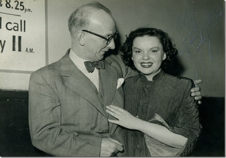 Judy Garland and Alfred Ellsworth, MBE, in Glasgow, Scotland, May 21, 1951