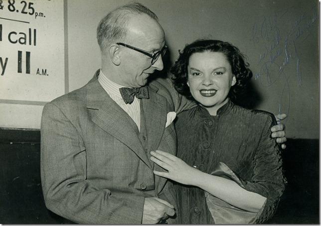 Judy Garland and Alfred Ellsworth, MBE, in Glasgow, Scotland, May 21, 1951