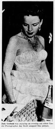 Snapshot of Judy Garland May 4, 1937