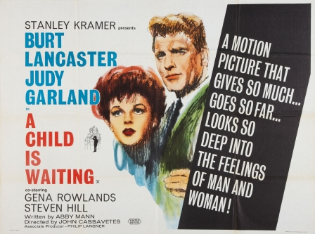 "Judy Garland and Burt Lancaster in ""A Child Is Waiting"""