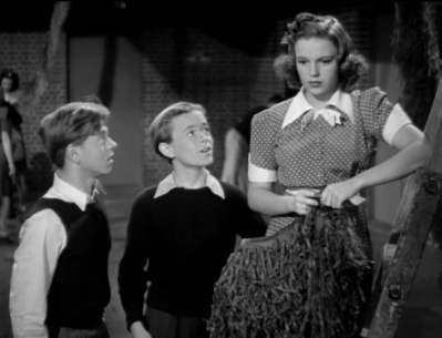 """Judy Garland and Mickey Rooney in """"Strike Up The Band"""""""