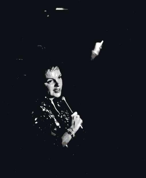 Judy Garland in Texas, 1961