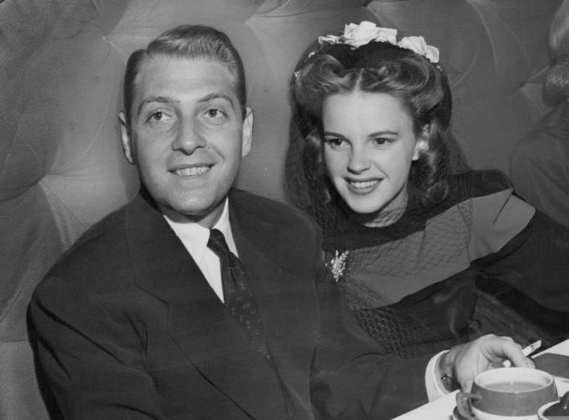 Judy Garland and David Rose 1941
