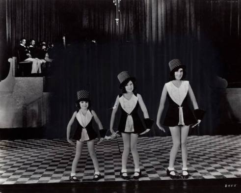 """The Gumm Sisters"" (Judy Garland) in ""The Big Revue"" 1929"