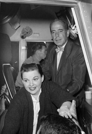 Judy Garland and Humphrey Bogart, Long Beach, CA
