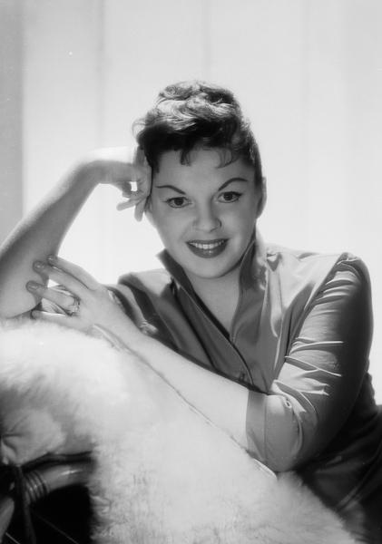 Judy Garland in 1957