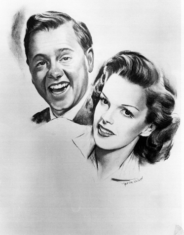 """Judy Garland and Mickey Rooney in """"Words and Music"""" - 1948"""