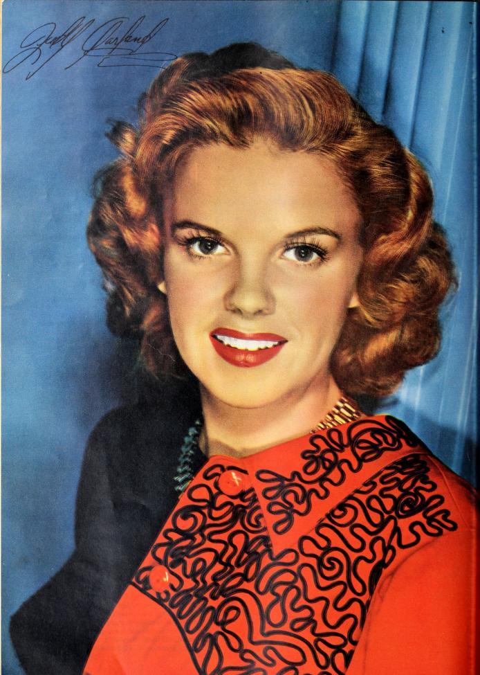 Judy Garland 1943 Photoplay portrait