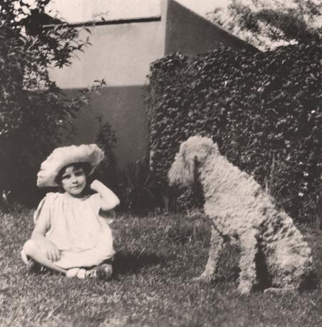 Judy Garland in Lancaster, California circa 1926