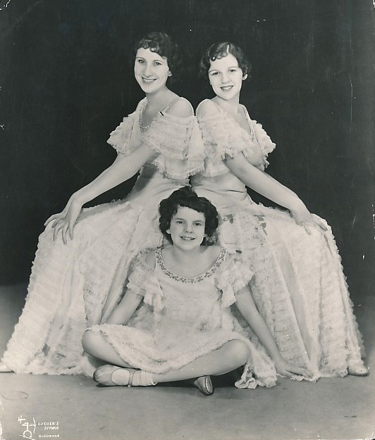 The Gumm Sisters 1933