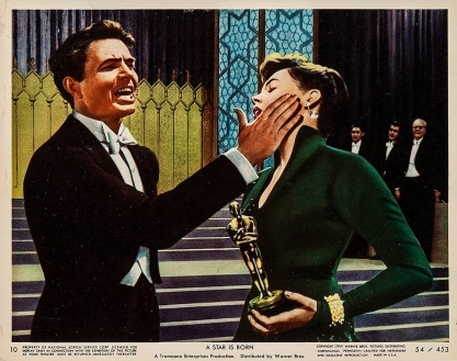 "Judy Garland and James Mason in ""A Star Is Born"""