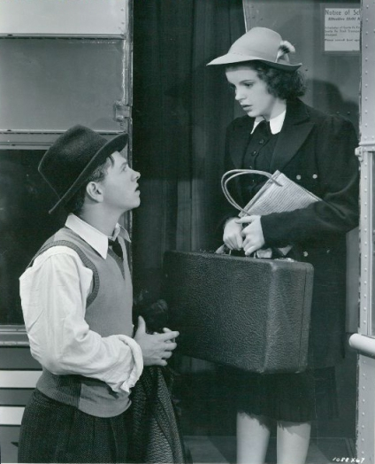 "Judy Garland and Mickey Rooney in ""Babes In Arms"""