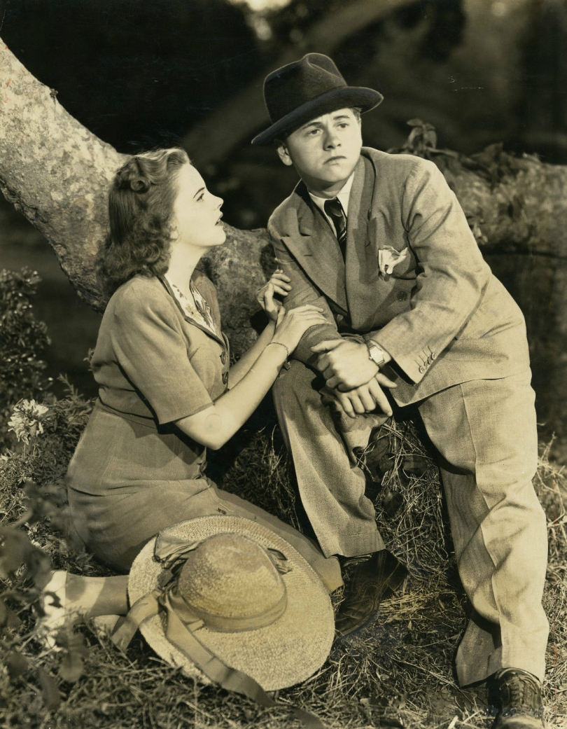 """Judy Garland and Mickey Rooney in """"Babes In Arms"""" 1939"""