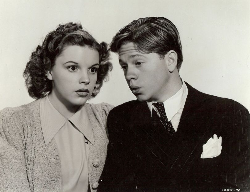 Judy Garland Mickey Rooney Babes in Arms