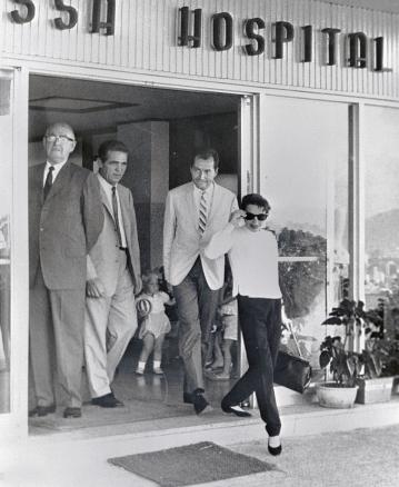 June 1, 1964 HONG KONG leaving hospital