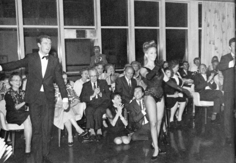 Judy Garland and Mark Herron June 12, 1964 On the ship between Hong Kong and Tokyo