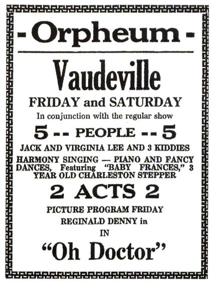 June-18-19-1926-Whitefish-Montana-Ad