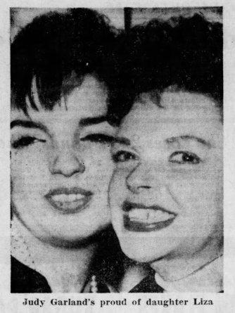 Judy Garland and Liza Minnelli 1963