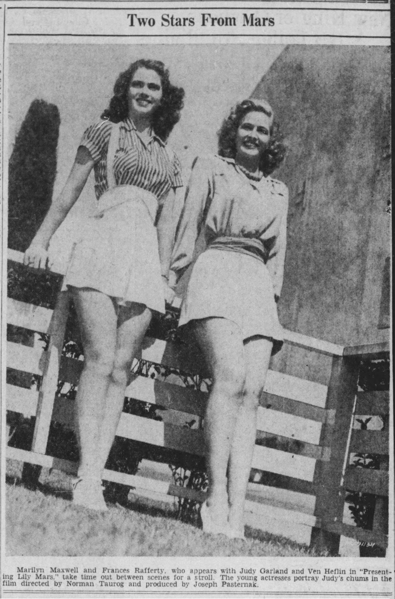 June 20, 1943 TWO STARS FROM MARS Hartford_Courant